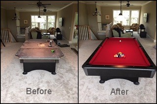 Guaranteed pool table repair in Amarillo content img2