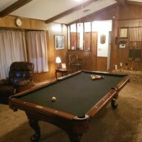 Fisher Mahogany Pool Table